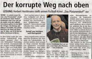 17.03.2015 Westfälischer Anzeiger - Kultur Regional Blick ins Münsterland - - Kopie