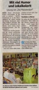 26.03.2015 - Ruhrnachrichten