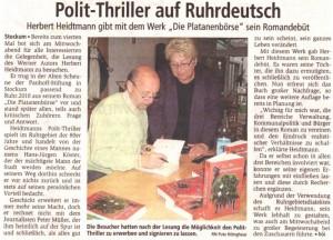 Ruhrnachrichten 21.05.2010