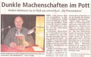 Westfälischer Anzeiger 29.11.2011